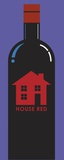 House Red Print on Canvas by Chris Reed