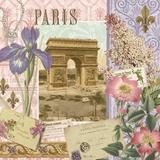 Springtime in Paris II Print on Canvas