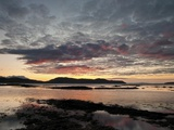 Broadford Sunset I Print on Canvas by Robert Strachan