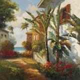 Villagio Da Aqua Print on Canvas by  Gilda