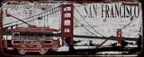 San Franciso Trolley Print on Canvas by Karen J. Williams