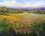 Morning Mist Print on Canvas by Jan E. Moffatt