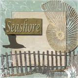 Seashore Print on Canvas by Karen J. Williams