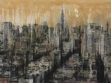 NYC6 Print on Canvas by Dario Moschetta