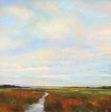 Wetlands I Print on Canvas by Jan E. Moffatt