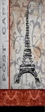 Paris Postcard Panel Print on Canvas by Karen J. Williams