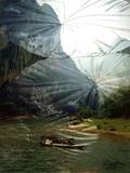 Li River Journey Print on Canvas by Suzanne Silk