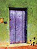 Santa Fe Portal Print on Canvas by Suzanne Silk