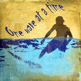 One Wave at a Time Print on Canvas by Karen J. Williams