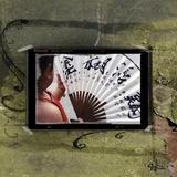 Shanghai Fan Print on Canvas by Suzanne Silk