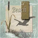 Beach Print on Canvas by Karen J. Williams