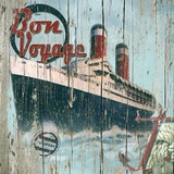 Bon Voyage Print on Canvas by Karen J. Williams