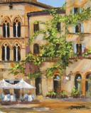 San Gimignano Print on Canvas by Jan E. Moffatt