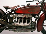 Detail of 4 cylinder Indian Ace, 1929 Print on Canvas by Markus Cuff