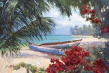 Tropical Hideaway Print on Canvas by Nenad Mirkovich