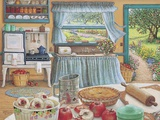 Apple Pie Harvest Print on Canvas by Janet Kruskamp