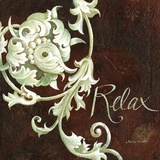 Relax Print on Canvas by Maria Woods
