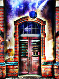 Behind Locked Doors Photographic Print by  Exploding Art