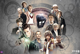 Doctor Who - Doctors Collage Prints