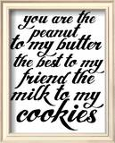 Milk & Cookies Poster von Kyle & Courtney Harmon