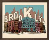 Brooklyn Poster by  Hero Design