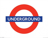 London Underground - Logo Posters