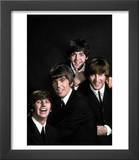 Members of Singing Group the Beatles: John Lennon, Paul McCartney, George Harrison and Ringo Starr Print by John Dominis