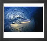 Inside Breaking Ocean Wave Prints by David Pu'u