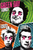 Green Day - Uno Dos Tre Prints