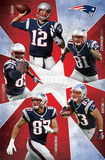 New England Patriots 2012-13 Team Posters