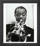 Louis Armstrong, November 17, 1955 Posters by Luc Fournol