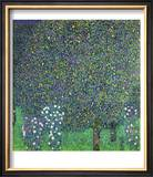 Roses Under the Trees, circa 1905 Poster by Gustav Klimt