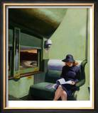 Compartment C, Car 293 Art by Edward Hopper