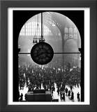 Clock in Pennsylvania Station Prints by Alfred Eisenstaedt
