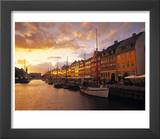 Nyhavn Harbour, Copenhagen, Denmark Prints by Jon Arnold