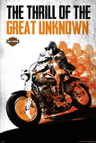 Harley Davidson - The Thrill of the Great Unknown Prints