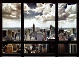 New York City Window Prints