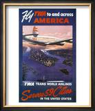 Trans-World Airlines 1950S Posters