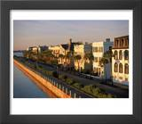 Historic Houses on Harbor, Charleston, SC Prints by Ron Rocz