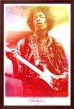 Jimi Hendrix Legendary Music Poster Print Print