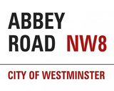 Abbey Road NW8 City of Westminster Sign Posters