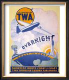 Trans-World Airlines 1934 Posters