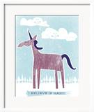 Unicorn Posters by  Hero Design