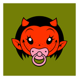 Little Devil Prints by Volker Dornemann