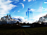 Elven Castle Photographic Print by  Exploding Art