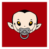 Little Vampire Prints by Volker Dornemann