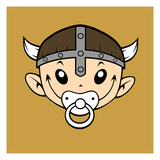 Little Viking Art by Volker Dornemann