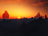 Morning Glory at Fargul Mountain Photographic Print by  Exploding Art