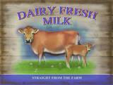 Dairy Fresh Milk Blechschild