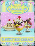 The Ice Cream Parlour Tin Sign